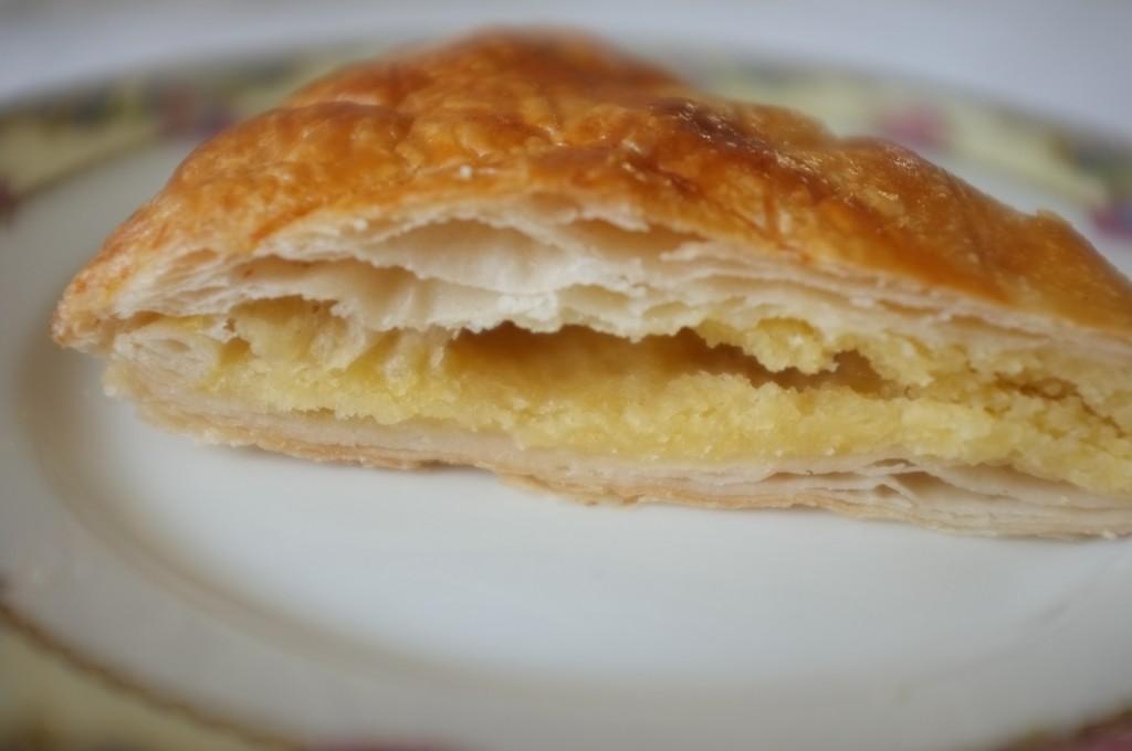 La pâte de croustipate est vraiment comme une pâte feuilletée classique, il faut le reconnaître!