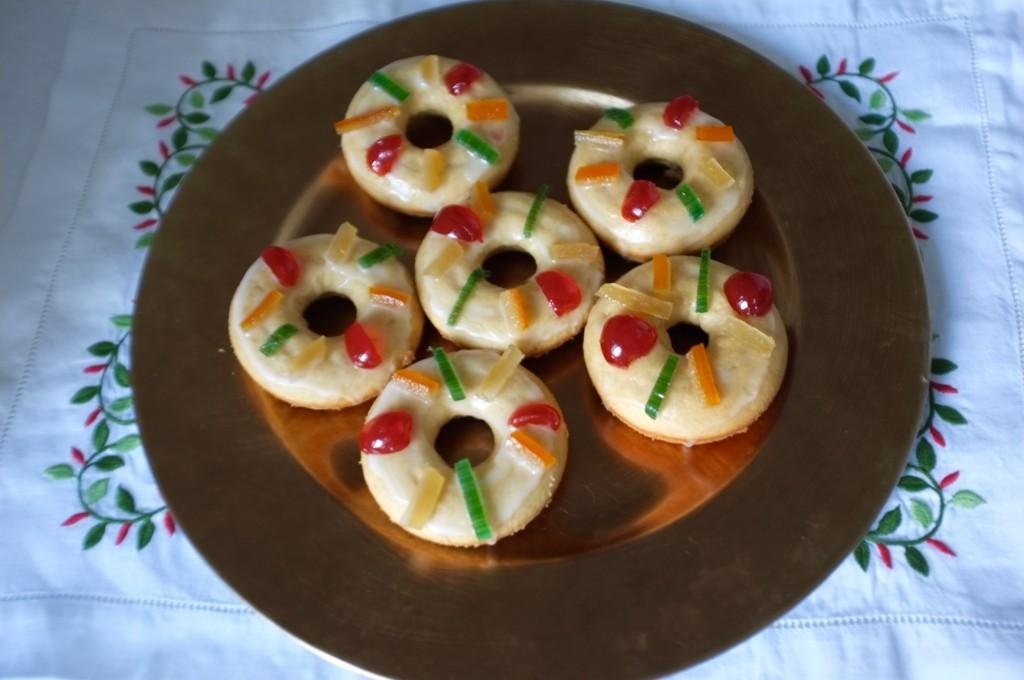 Les donuts des Rois sans gluten pour le goûter du 6 Janvier 2016