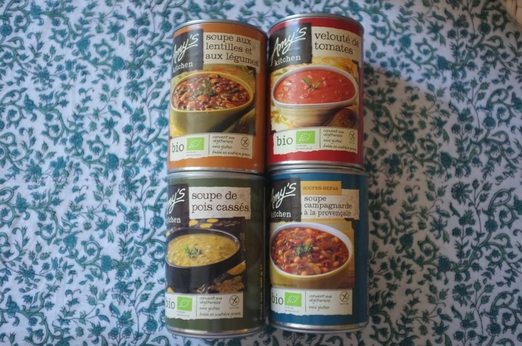 Les soupes Amy's Kitchen. nos saveurs favorites.
