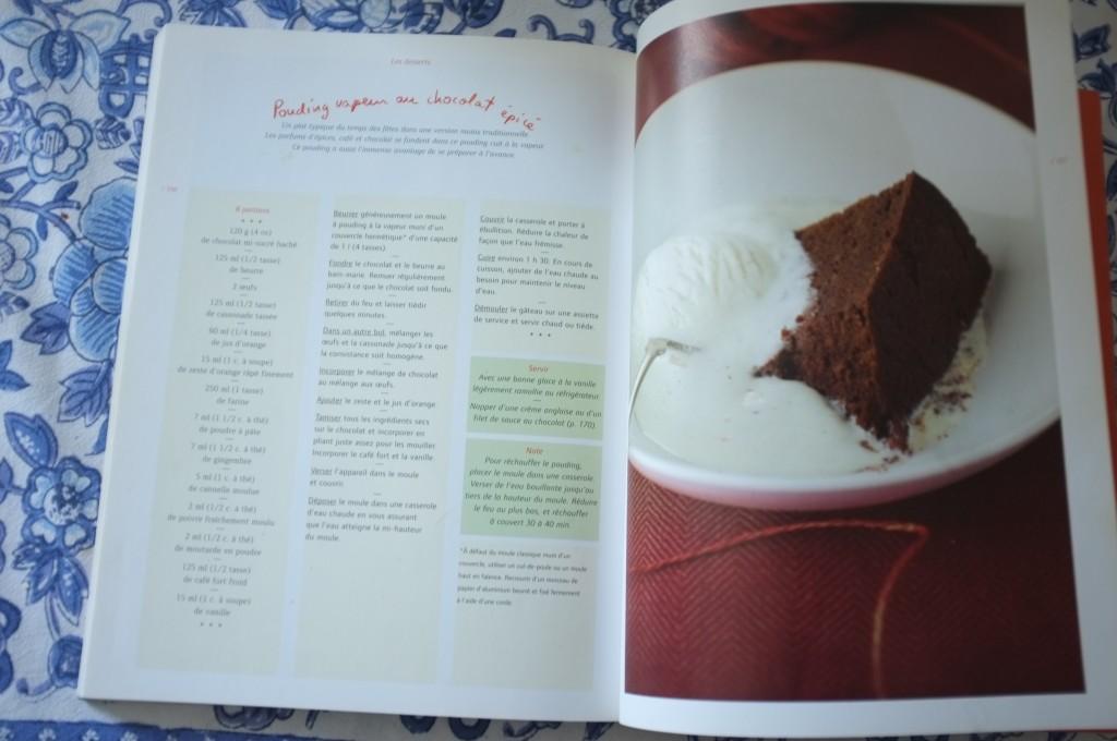 Le recette initiale, pleine de gluten et aux mesures québécoises qu'il a fallut adapté aux mesures françaises.