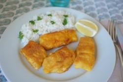 test en cuisine sans gluten de poisson pané avec la chapelure «Mon fournil»