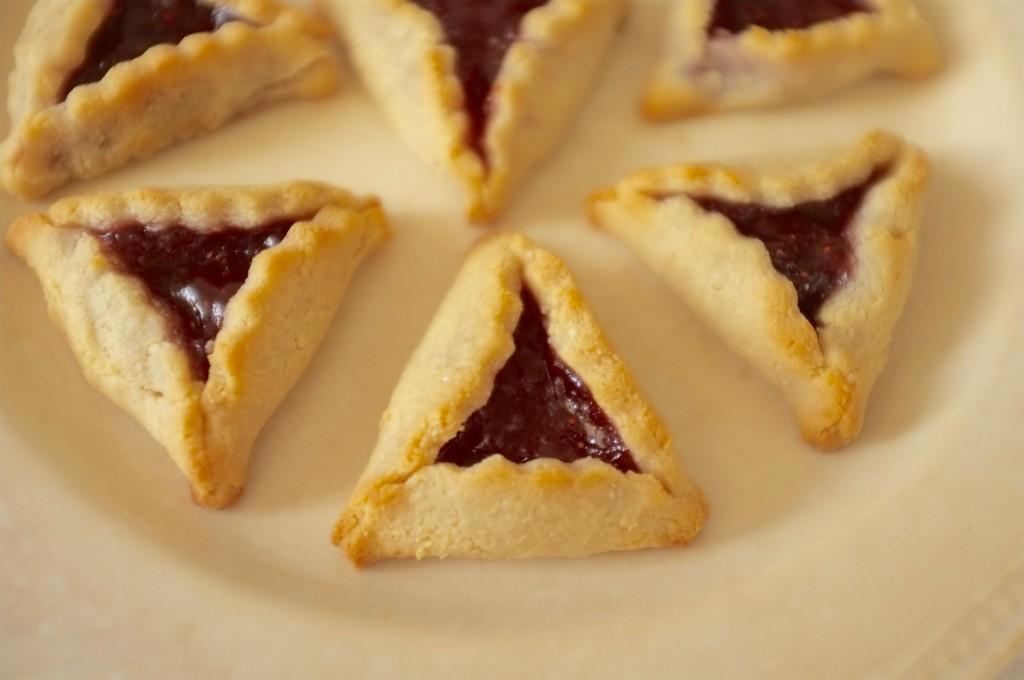 Les biscits sans gluten Hamantaschen
