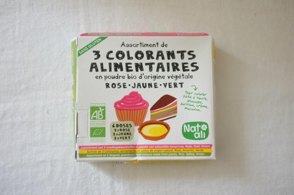 Les colorants alimentaires Bio et certifié sans gluten