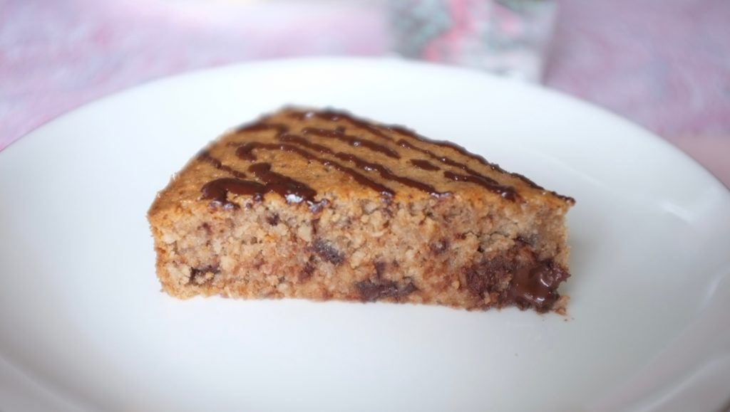 le gâteau sans gluten châtaigne, coco et chocolat