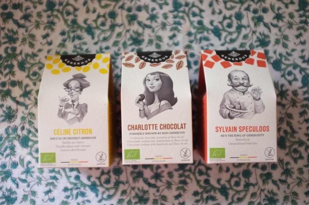 Les mini paquets de biscuits Generous, parfaits pour ma lunch box et celle de mon fils William