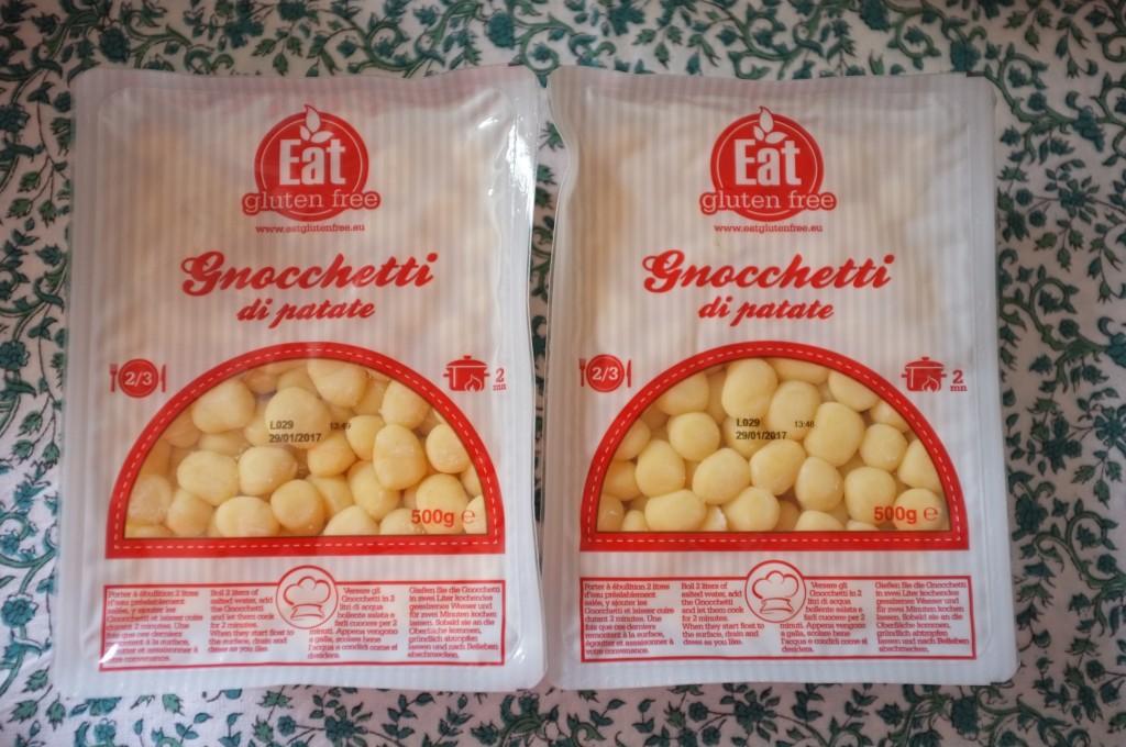 Les gnocchetti de Eat Gluten Free, mon fils les adore. J'en ai pris deux paquet pour en congeler un !