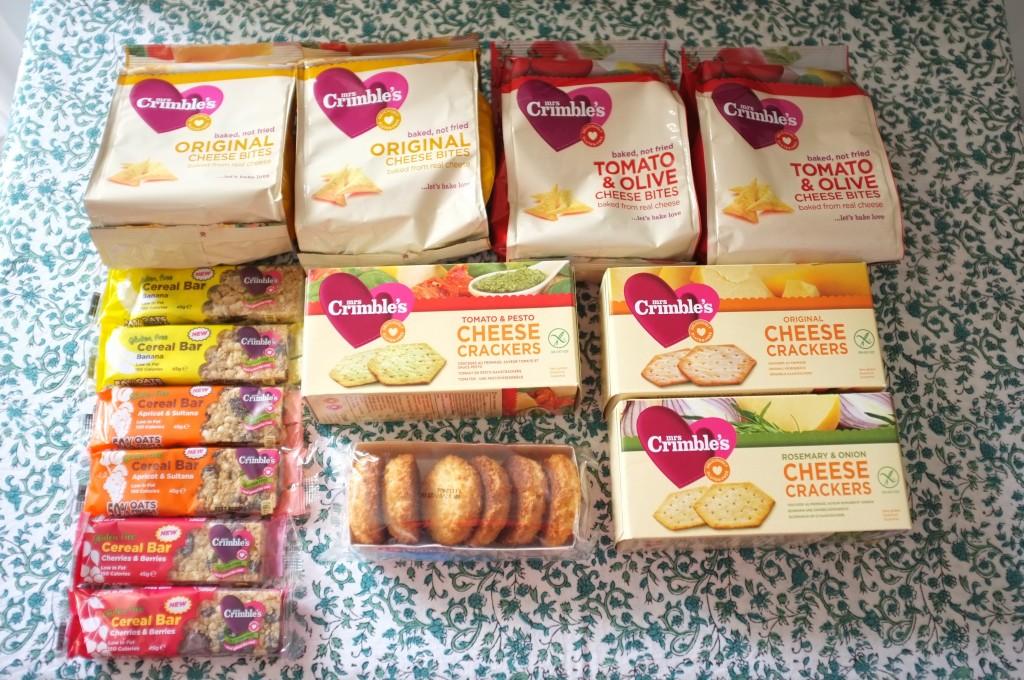 Avec mon amri, nous avons dévalisé le satnd de Mrs Crimbles, pour tous les biscuits apéritifs...