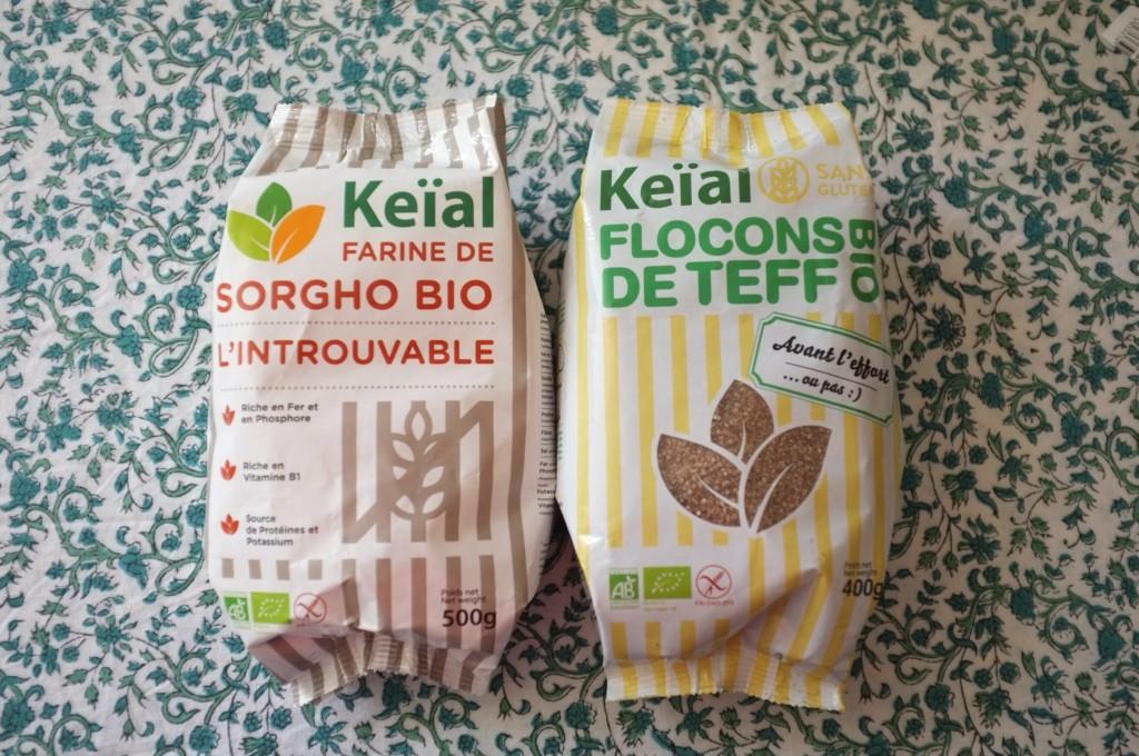 La nouvelle marque Keïal, Bio, certifiée afdiag avec une gamme de produits incroyablement variée de farines, graine et flocons.