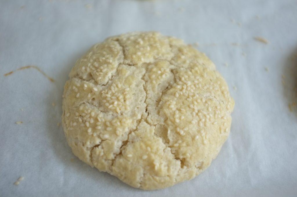 un pain sans gluten pour burger