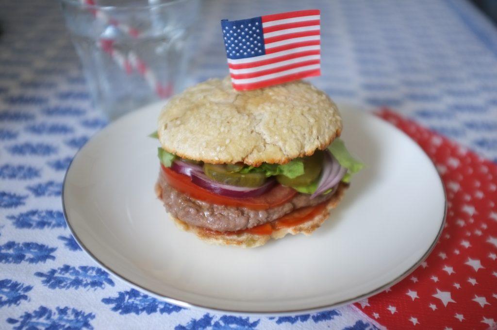 LA recette sans gluten de pain burger
