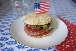 Recette sans gluten de pain pour burger