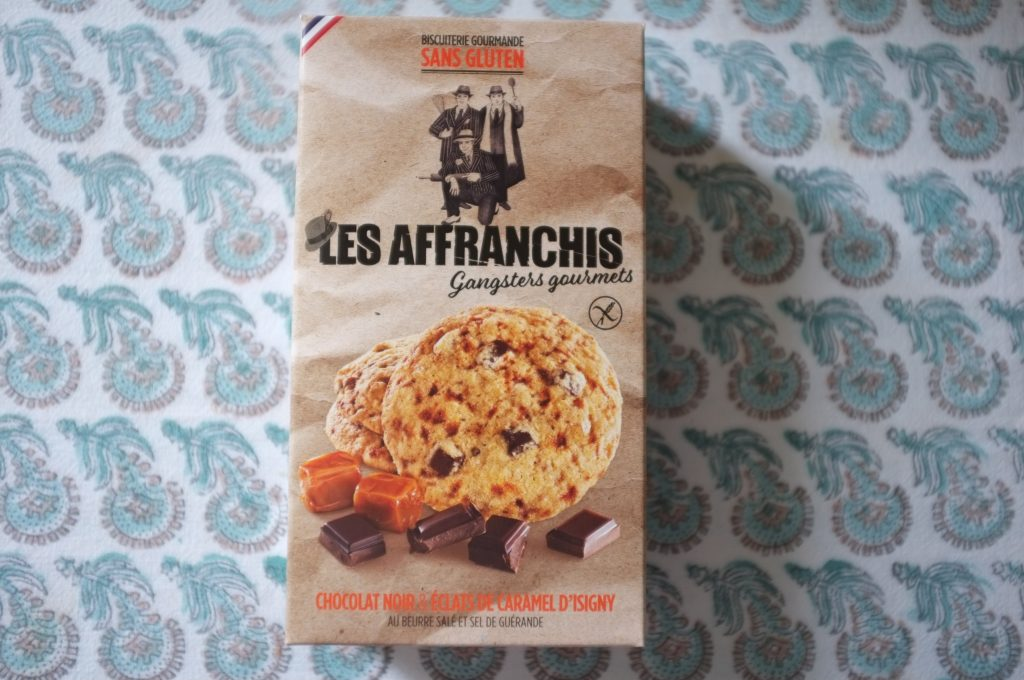 Les cookies au chocolat noir et éclats de caramel d'Isigny