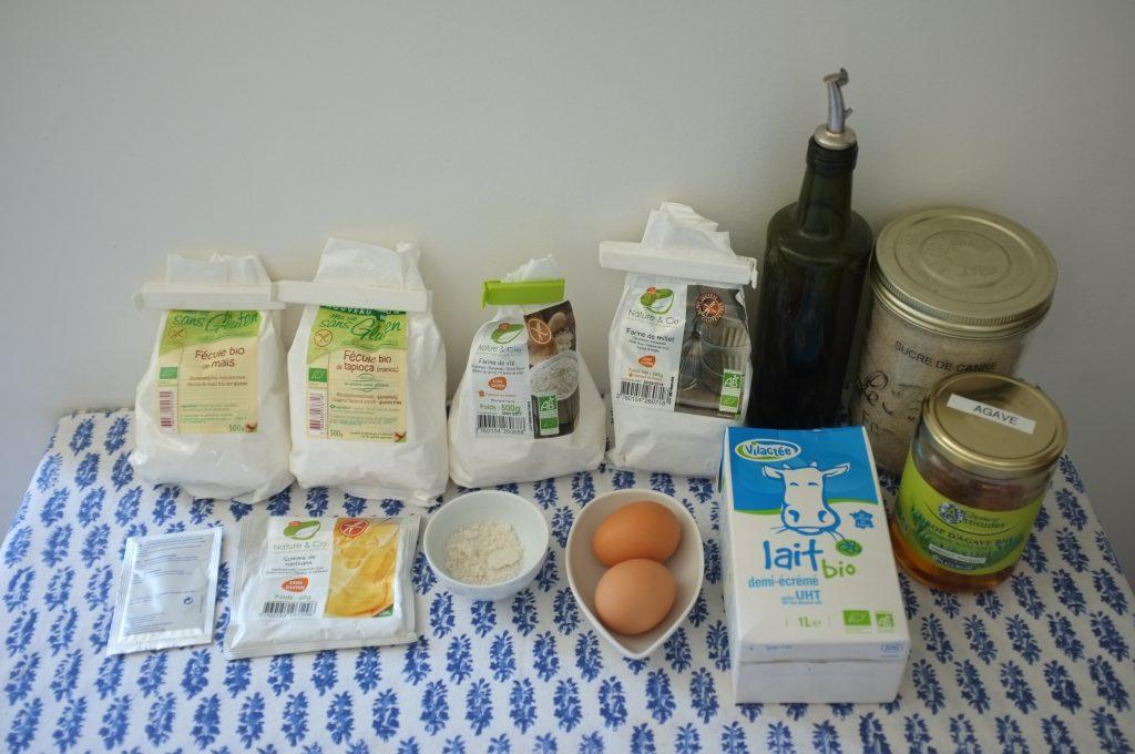Les ingrédients sans gluten pour les muffins anglais 2016