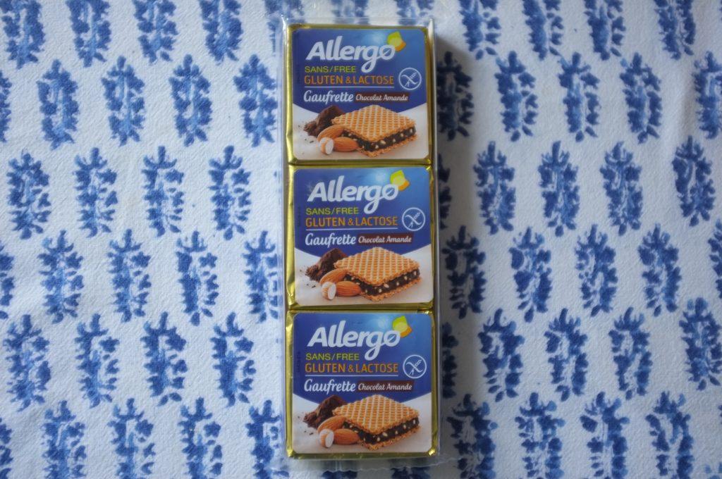Les petites gauffrettes sans gluten ET sans lactose de Allergo.