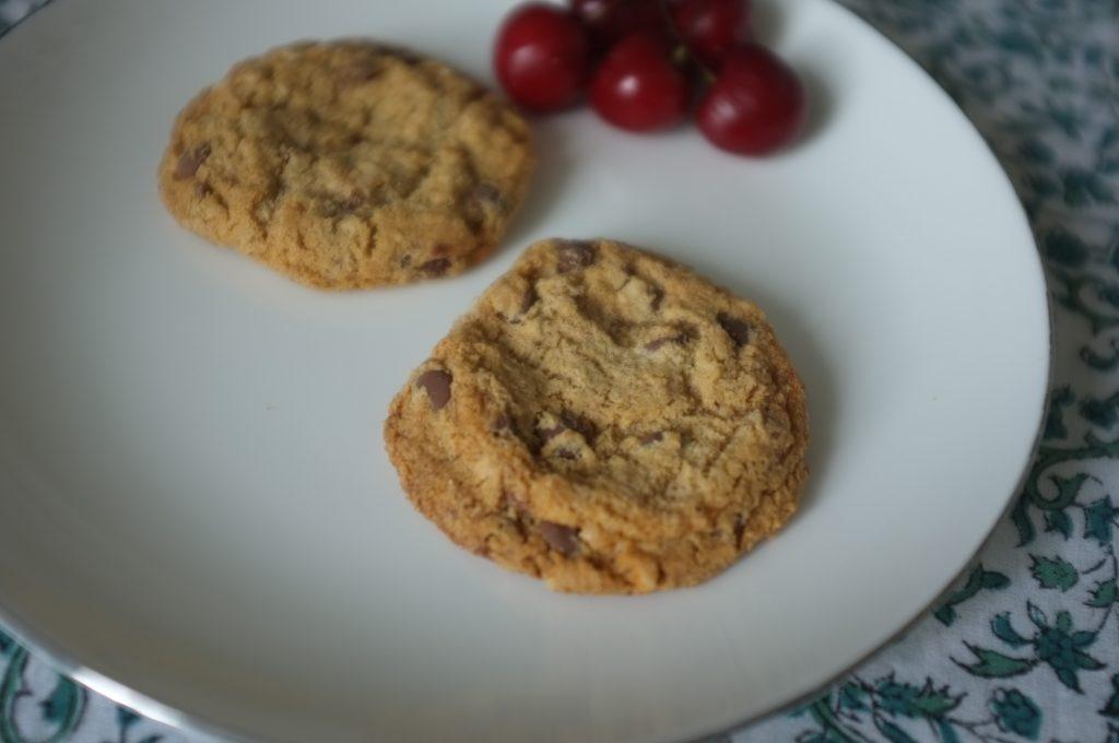 Les cookies choco noisette de Gerblé Sans Gluten pour le goûter.
