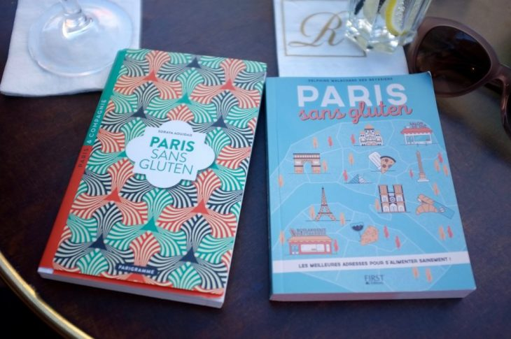 «Paris sans gluten» petits guides de la capitale