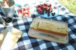 Recette sans gluten de cake au jambon et olives