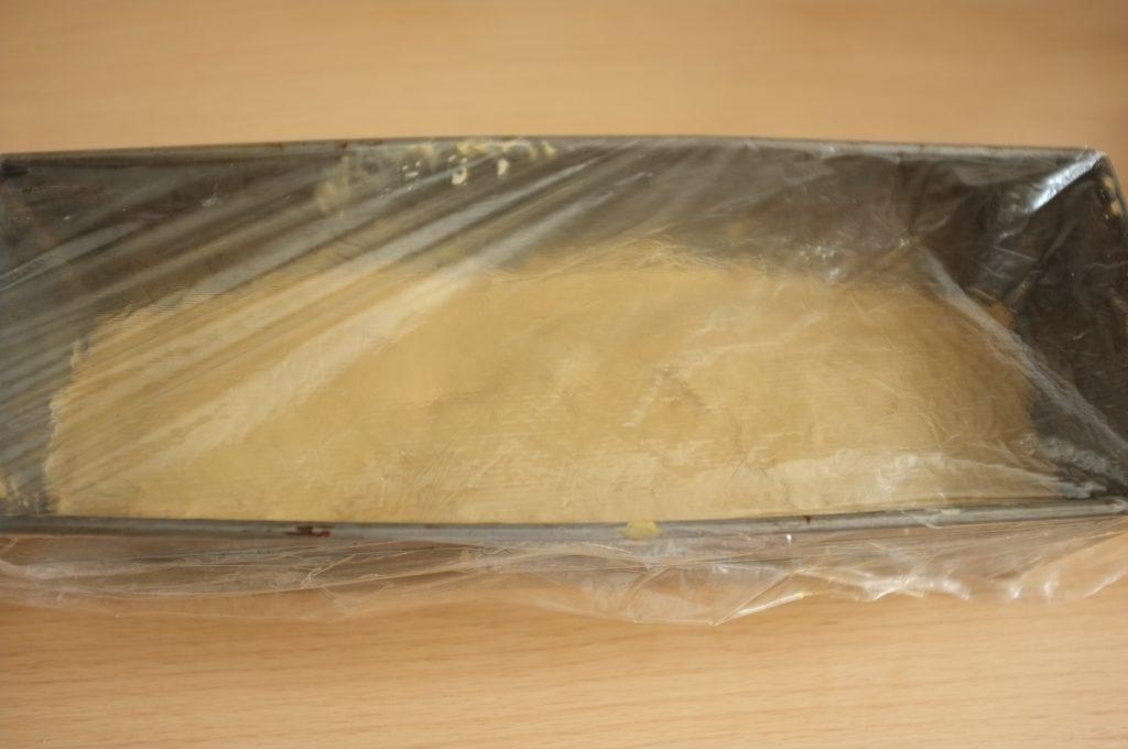 Le pain sans gluten à la farine de teff lève tranquillement