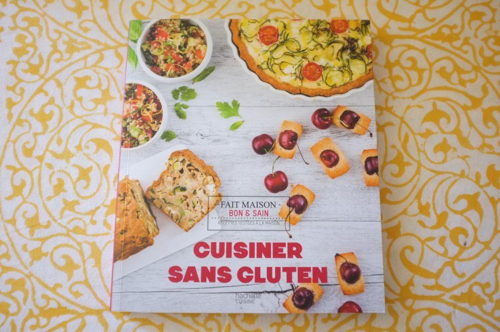 """Mon livre """" Cuisiner sans gluten"""" où comment facilement préparer de délicieuses recettes pour toutes la famille"""