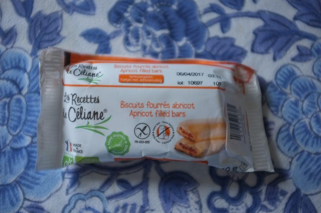 Les biscuits fourrées abricot de Les recettes de Céliane ( 2 biscuits par paquet)