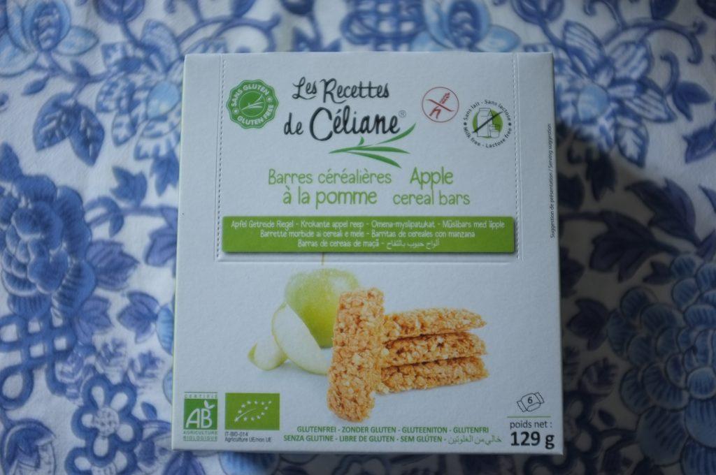 Les barre céréalières à la pomme de Les recettes de Céliane.