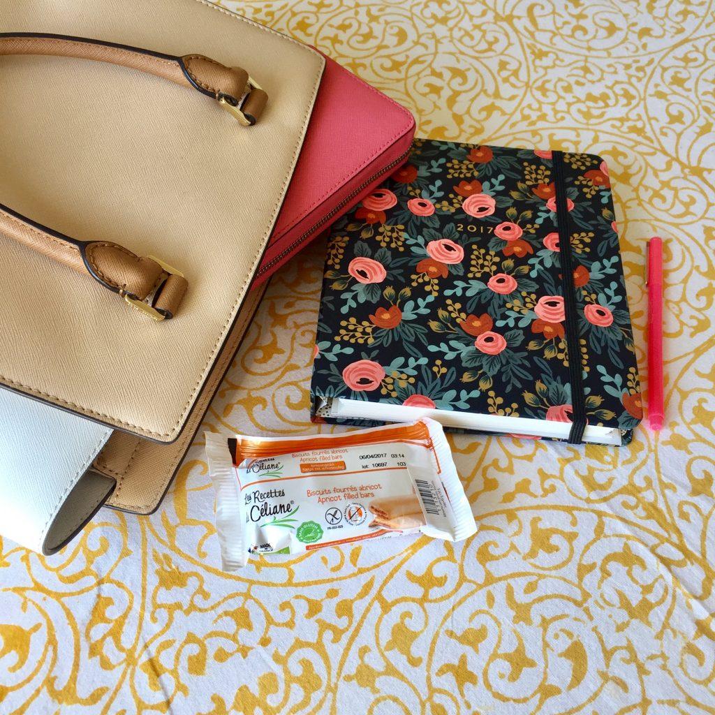 Les biscuits fourrés abricot sont parfait pour être glissés dans mon sac à main pour les petits creux...