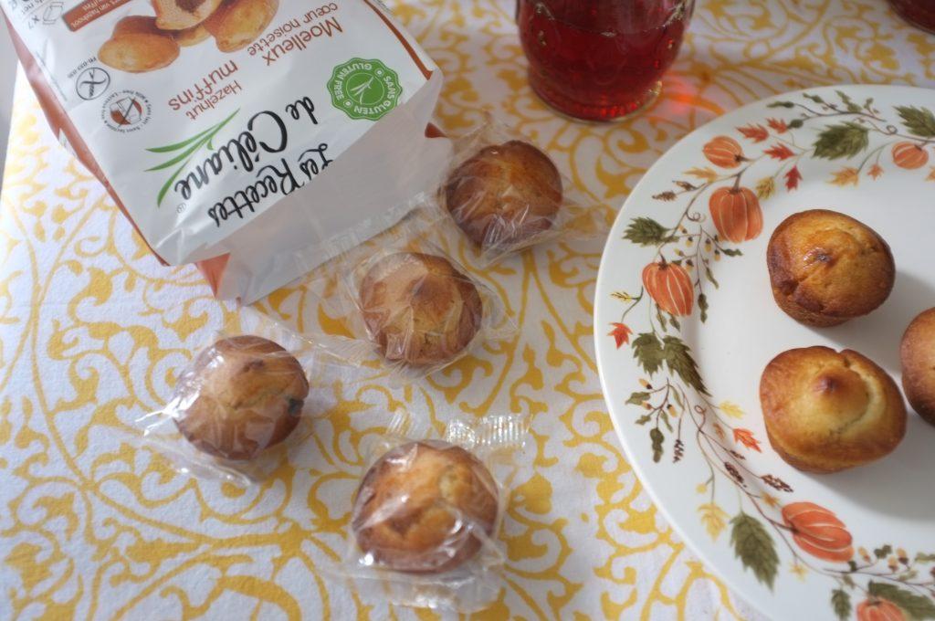 Les muffins moelleux coeur de noisette pour les goûter d'automne