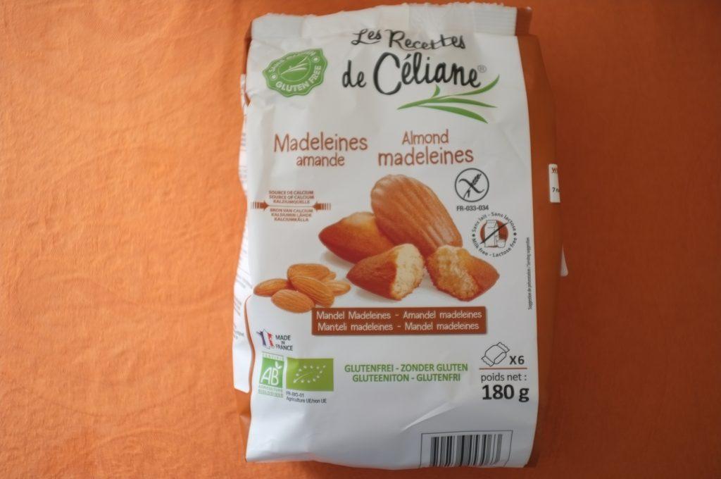 Les madeleines à l'amande de Les recettes de céliane