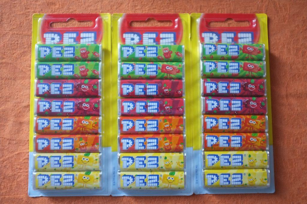 Les bonbons PEZ sont des bonbons que j'aime depuis l'enfance, mais après mon diagnostique, c'étaient eux que j'avais le droit, en toute sécurité, de déguster...