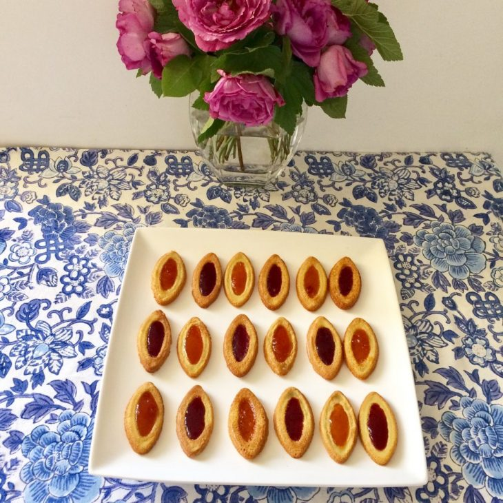Recette sans gluten de biscuits barquettes à la confiture