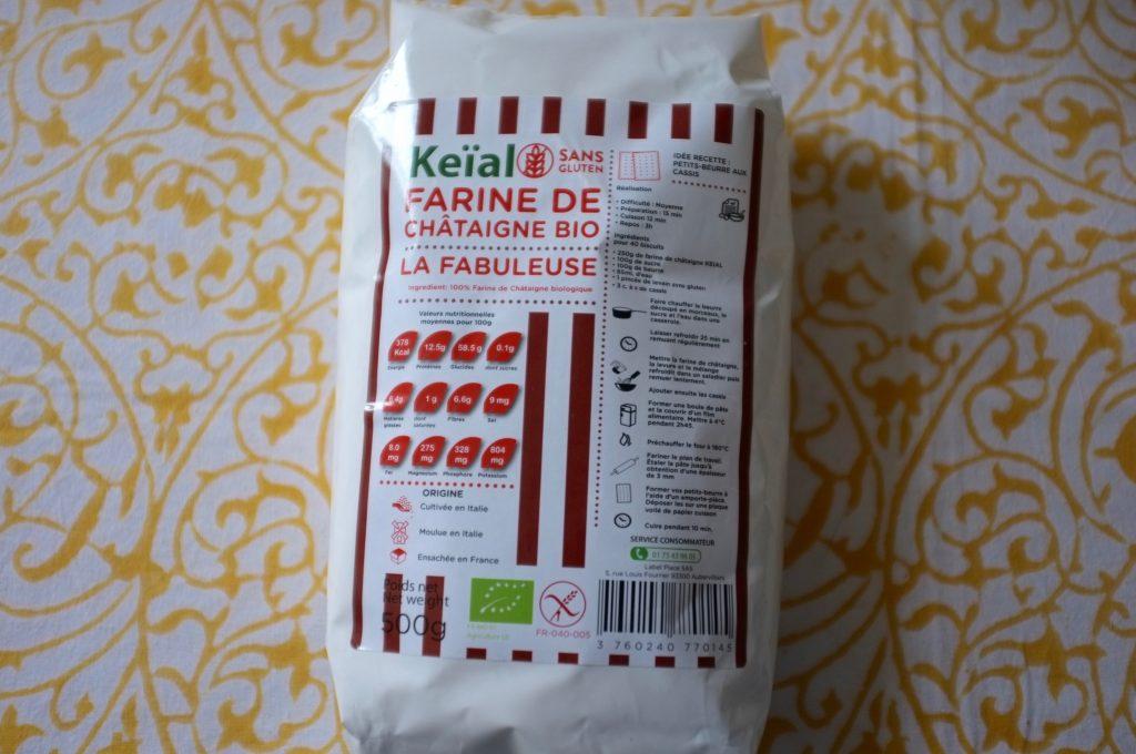 La farine de châtaigne Bio et certifiée sans gluten à 4€ !