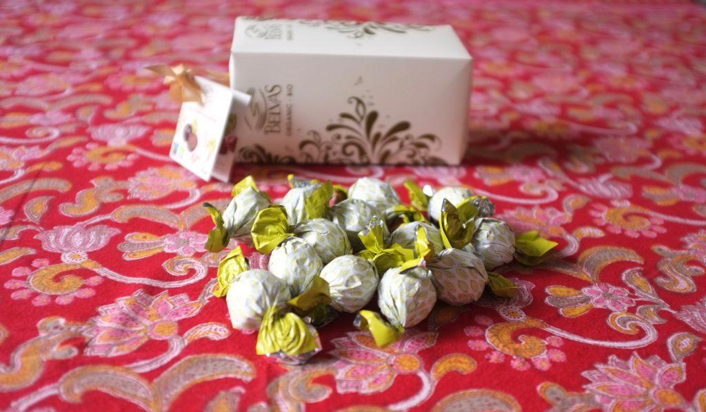 Les chocolat fourré de noisette de Belvas