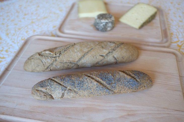 Recette sans gluten de baguette rustique