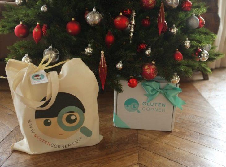 Idée sans gluten, la box «Gluten Corner» pour un cadeau de Noël !