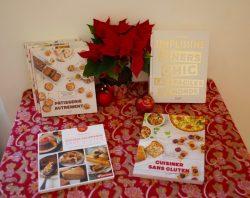 Mes livres de cuisine pour Noël