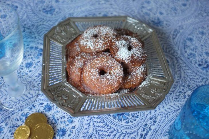 Recette sans gluten de beignet de pomme