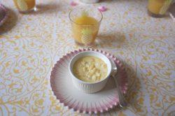 Recette sans gluten d'entremet à l'ananas pour la Banque Alimentaire