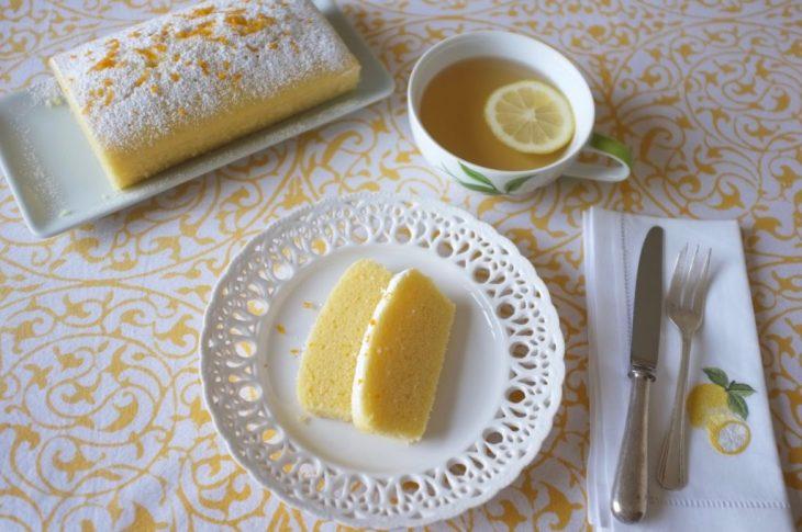 Le cake citron bergamote sans gluten au Vitaliseur