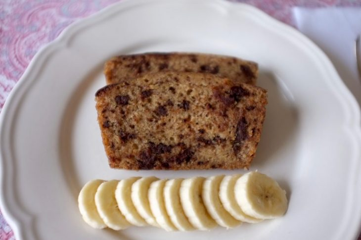 Banana bread sans gluten au Vitaliseur