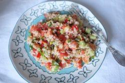 taboulé sans gluten au quinoa