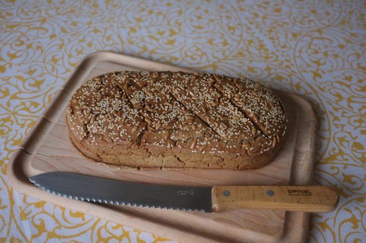 recette sans gluten de pain de campagne sarrasin