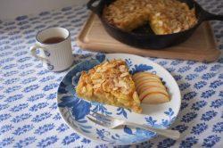Le gâteau pommes amandes cannelle sans gluten