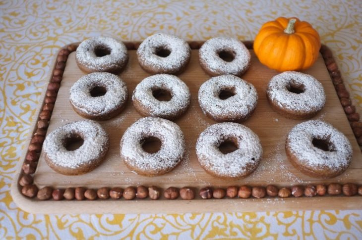mes donuts au potiron sans gluten