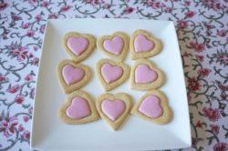 Mes biscuits coeur sans gluten pour la St Valentin