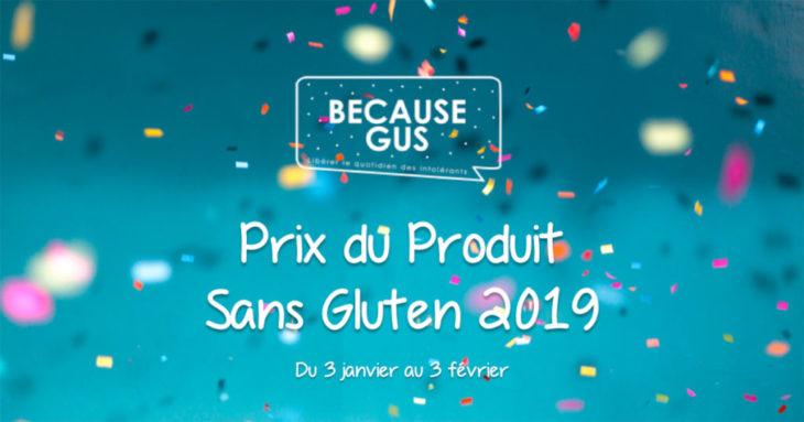 Prix du Produit Sans Gluten 2019
