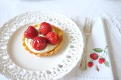 Mes tartelettes aux fraises sans gluten