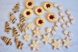 Recette sans gluten et facile de biscuits de Noël
